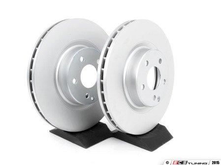 ES#2588714 - 204421291207KT3 - Front Brake Rotors - Pair - Does not include new rotor securing screws - ATE - Mercedes Benz