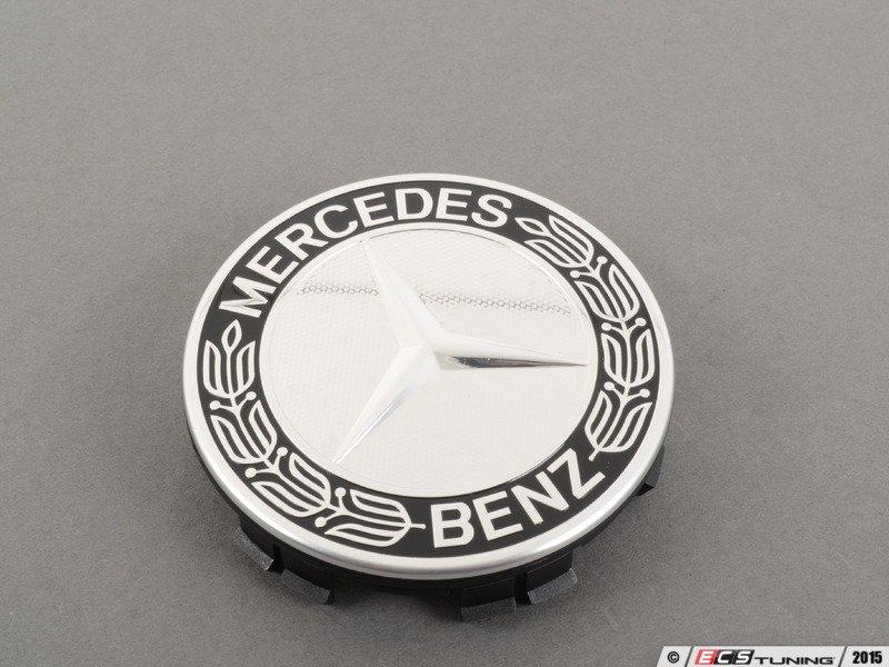 Genuine mercedes benz 17140001259040 center cap for Mercedes benz black center caps