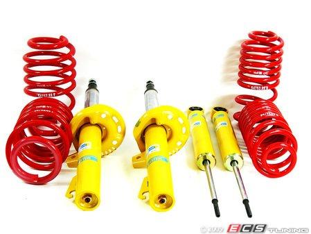 "ES#8392 - 54752-88bsc - H&R Race Spring & Bilstein Sport Shocks Combo - Average lowering 2006-2007(1.5""F & 1.4""R) 2008+(0.9""F & 0.8""R) - Assembled By ECS - Volkswagen"