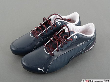 ES#2860006 - 80162355005 - BMW Motorsport Drift Cat 5 Shoes - Team Blue, Size 9 - (NO LONGER AVAILABLE) - The ultimate driving shoes for your ultimate driving machine - Genuine BMW -