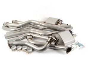 """ES#2827618 - SSXAU503 - Turbo-Back Exhaust System - Valvesonic Non-Resonated - (NO LONGER AVAILABLE) - 2.75"""" stainless steel, Cat-less, and retains stock exhaust tips - Milltek Sport -"""