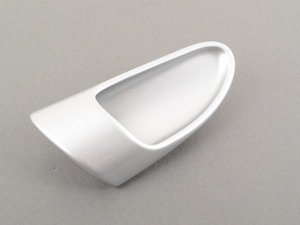 ES#1505221 - 99755546101V05 - Interior Door Handle - Galvano Silver - Left side fitment - Genuine Porsche - Porsche