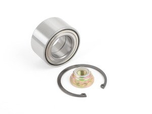 ES#2814362 - 1J0598625 - Rear Wheel Bearing Kit - Fits the left or right side and includes necessary hardware - Hamburg Tech - Audi Volkswagen