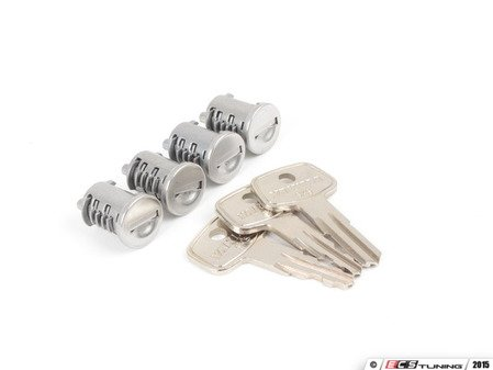 ES#2919333 - 8007204 -  SKS Lock Cores - 4 Pack - These 4 cores enable you to lock all of your yakima products with just one key. - Yakima - Audi BMW Volkswagen Mercedes Benz MINI Porsche