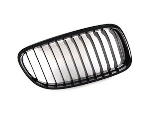 ES#259064 - 51712146912 - Blackout Kidney Grille - LCI Only - Right (Passenger) - Add style and individuality to your E90 in moments - Genuine BMW M Performance - BMW