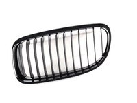 ES#259063 - 51712146911 - Blackout Kidney Grille - LCI Only - Left (Driver) - Add style and individuality to your 3 Series in moments - Genuine BMW - BMW