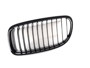 ES#259063 - 51712146911 - Blackout Kidney Grille - LCI Only - Left (Driver) - Add style and individuality to your 3 Series in moments - Genuine BMW M Performance -