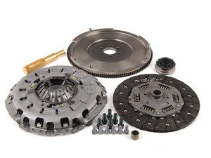 ES#5485 - RA4S1-STEEL -  RA4 240mm Clutch Conversion Kit - Stage 1 - ECS RA4 Lightweight Flywheel with the Audi S4 clutch kit - ECS - Audi Volkswagen