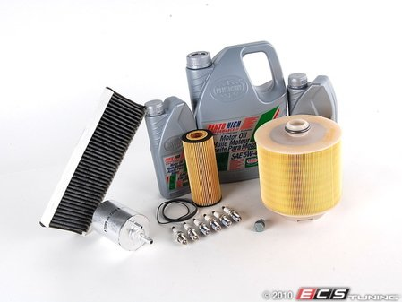 ES#250242 - c6a6bkh40k - ECS Tuning 40k Service Kit - Includes everything you need to complete the factory 40k service - Assembled By ECS - Audi