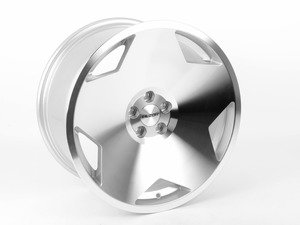 "ES#2959744 - 081-07KT2 - 18"" Style 081 - Set Of Four - 18""x9.5"" ET35 5x112 - Silver/Machined Face - Alzor - Audi Volkswagen"