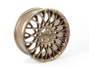 "ES#2843351 - M15518804342 - 18"" Citrine ""M155"" Wheels - Priced each (Only 2 available) - 18x8 et42 CB66.6 Bronze - Niche Wheels - Volkswagen"