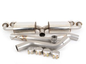 "ES#2827416 - SSXAU292 - Cat-Back Exhaust System - Non-Resonated - 2.75"" stainless steel with quad special polished tips - Milltek Sport - Audi"