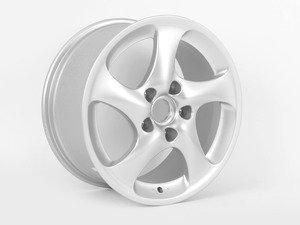 ES#1485864 - 99636213801 - Rear Turbo Twist Look II Wheel - Priced Each - 18x9, 52 offset - Genuine Porsche - Porsche
