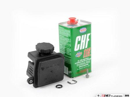 ES#2917959 - 0004661880KT9 -  Power Steering Reservoir Seal Kit - Level 3 - Includes Reservoir, Seal, Lock Clip, Fluid (CHF 11S), And Hardware - Assembled By ECS - Mercedes Benz
