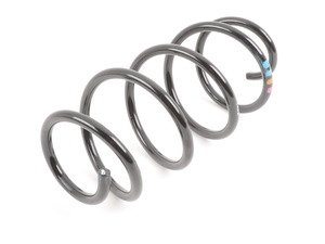 ES#315892 - 1K0411105BC - Front Spring - priced each - paint marks: 1 violet, 1 orange, 2 blue or 4 grey, 1 blue - Genuine Volkswagen Audi - Volkswagen