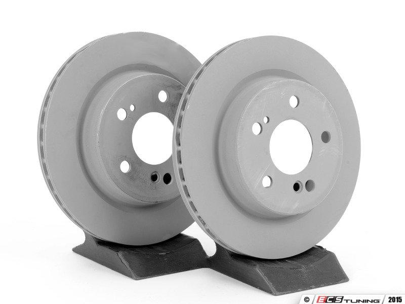 Genuine mercedes benz 124423081264kt rear brake rotors for Mercedes benz rotors