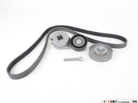 ES#2593188 - 06H903137CKT1 - Accessory Belt Kit - Keep your accessories running properly! - Assembled By ECS - Audi