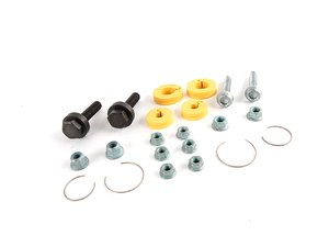 ES#2609141 - ZVW269007 - Suspension Limiting Kit - Includes the suspension limiters plus the hardware needed to complete the install when installing sport springs - Genuine Volkswagen Audi - Volkswagen