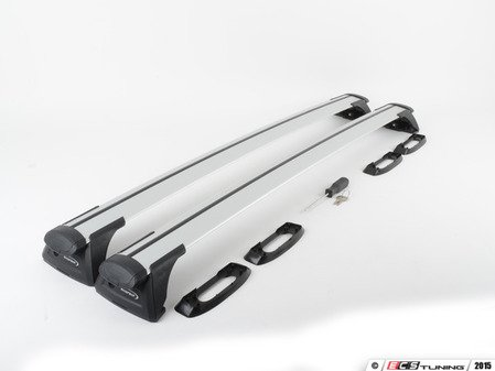 ES#2919078 - 8050705KT - Whispbar Roof Rack Through Bar System - Precision fitment with aerodynamics and wind noise in check! - Whispbar - Audi