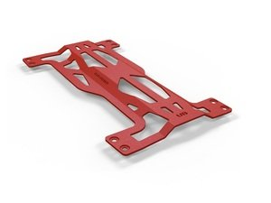 ES#2960077 - UB.RED - UB Under Body Brace - Red - Improve handling and resist body flex - UNIbrace - Audi Volkswagen