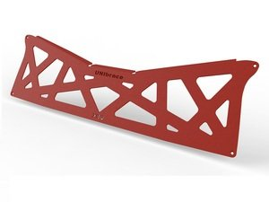ES#2960073 - XBQ.RED - XBQ Rear Brace - Red  - Improve handling and resist body flex - UNIbrace -