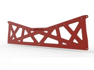 ES#2960071 - XB.RED - XB Rear Brace - Red - Improve handling and resist body flex - UNIbrace - Volkswagen