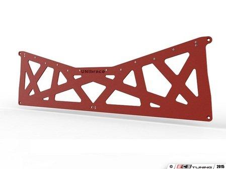 ES#2960071 - XB.RED - XB Rear Brace - Red - Improve handling and resist body flex - UNIbrace - Volkswagen