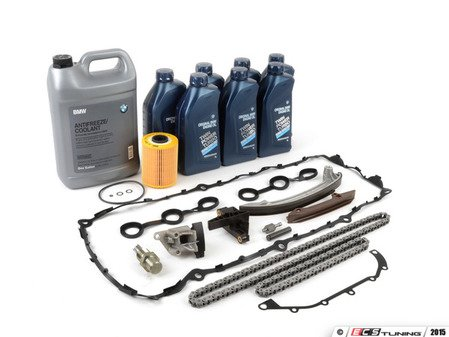 ES#2678528 - 11311738700TBKT1 - Timing Chain Kit - Everything you need to get the job done, including coolant, oil and filter - Assembled By ECS - BMW