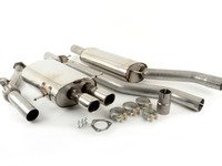 ES#2827244 - SSXAU006 - Cat-Back Exhaust System - Resonated - 2.75 stainless steel with twin 76.2mm polished tips - Milltek Sport - Audi