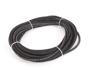 ES#2765743 - N203531-20 -  Cloth Braided Fuel/Vacuum Hose - Black - 20 Meter - Replace your cracked or frayed fuel or vacuum lines. 3.5mm ID - Rein - Audi BMW Volkswagen Mercedes Benz MINI Porsche
