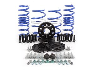 ES#2951438 - 014249ECS01-05KT - ECS StanceEnhance Kit - Featuring ECS Flush Kit and Volkswagen Racing Lowering Springs - Assembled By ECS - Volkswagen