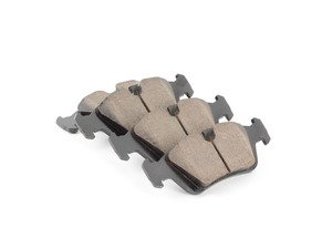 ES#2848909 - 34116761244 - Front Euro Ceramic Brake Pad Set - Offers excellent pedal feedback, low dust, and smooth initial bite. A favorite among BMW enthusiasts. - Akebono - BMW