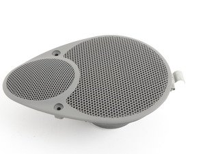 ES#1495605 - 99664504801C50 - Rear Speaker - Graphite Grey - Right side fitment for cabriolet, left side fitment for coupe/Targa - Genuine Porsche - Porsche