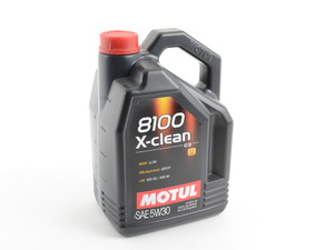 ES#2952151 - 3374650233 - 8100 X-Clean C3 Engine Oil (5w-30) - 5-Liter - 100% synthetic engine oil specially designed around the demands of direct injection engines - Motul - Audi BMW Volkswagen