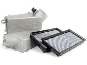 ES#2795508 - 1560940306KT2 - 6.3 AMG Air Intake Kit with AFE ProDry Filters - Featuring European Airboxes And AFE ProDry S Drop In Filters - Assembled By ECS - Mercedes Benz