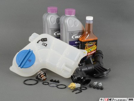 ES#2608152 - 06D121132CKT - Cooling System Refresh Kit - Level 3 - Replace critical cooling system components and perform a proper coolant system flush! - Assembled By ECS - Audi