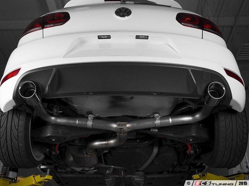 Ecs News Ecs Mk6 Gti Valved Exhaust System