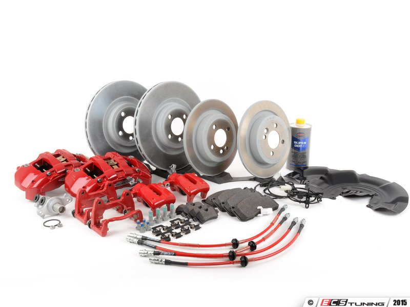 ecs news r55 r56 r57 mini cooper jcw brake service kits page 1. Black Bedroom Furniture Sets. Home Design Ideas