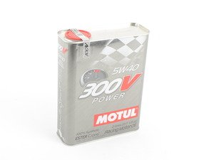 "ES#2876923 - 104242 - 300V 5w40 ""Competition"" - 2 Liters - 100% Synthetic - Ester Technology - Motul - Audi BMW Volkswagen MINI"