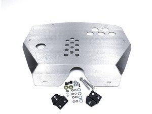 ES#2840603 - U03 - Aluminum Skid Plate  - Protection and aerodynamics that mounts under the engine - Rennline - MINI
