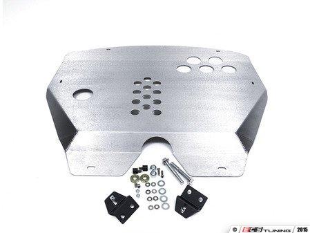 ES#2840603 - U03 - Aluminum Skid Plate  - Protection and aerodynamics that mounts under the engine - Rennline - MINI