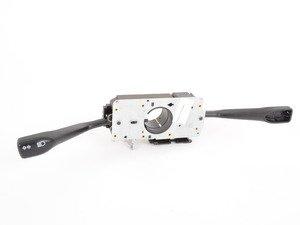ES#1494468 - 99661321310EWC - Steering Column Switch Assembly - Matte Black/Satin Black - Includes turn signal and wiper stalks - Genuine Porsche - Porsche