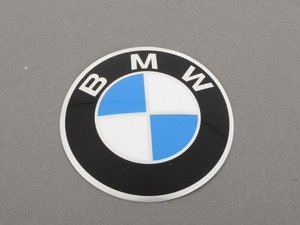 ES#65674 - 36131181104 - Wheel Emblem - Priced Each - Replace your faded or missing emblems - Genuine BMW - BMW
