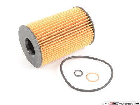 ES#2796071 - 11427848321 - Oil Filter Kit - From an original equipment supplier for your BMW - Mahle - BMW