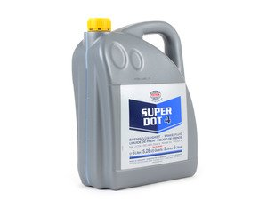 ES#2587921 - 1204204 - Super DOT4 Brake Fluid - 5 Liter - Boiling Point - Dry 260C (500F) / Wet >170C (338F) - Pentosin - Audi BMW Mercedes Benz