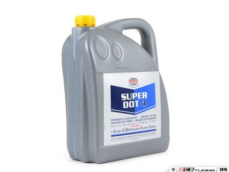 ES#2587921 - 1204204 - Super DOT4 Brake Fluid - 5 Liter - Boiling Point - Dry 260C (500F) / Wet >170C (338F) - Pentosin - Audi BMW Mercedes Benz