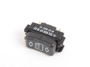 ES#1659923 - 1248204510 - Power Window Switch - Priced Each - Right side front and rear window switch - Located in the center console - Genuine Mercedes Benz - Mercedes Benz
