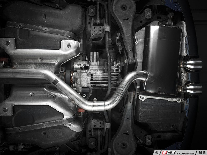 ECS News - VW MK5 R32 Milltek Exhaust Options