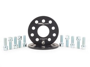 ES#2063855 - ECS10612KTWB -  ECS Wheel Spacer And Bolt Kit - 8mm With Ball Seat Bolts - Comes with everything you need to install spacers on two wheels - ECS - Audi Volkswagen