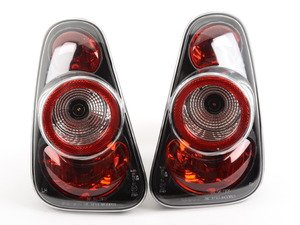 ES#2863418 - ALT-YD-MC02-BK - Euro Style Tail Lights Black - Pair - Upgrade to complete black / red tailights for yout MINI - Spyder - MINI